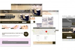 nailpampering.com Responsive wordpress Website Design by John Webb Designs