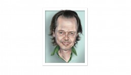 Steve Buscemi caricature illustration by John Webb